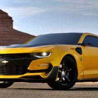 Así de radical luce el nuevo Bumblebee, el Camaro de la próxima película de Transformers