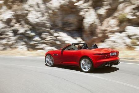 Jaguar F-Type, por fin vemos su trasera