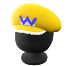Animal Crossing New Horizons Set Mario Wario Gorra