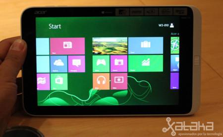 Acer Iconia W3, primeras impresiones