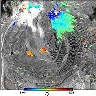 Monitorización de derrumbamientos por satélite