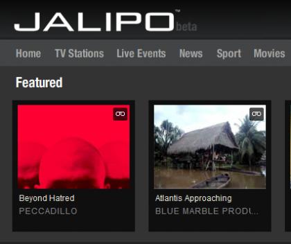 Jalipo, nueva plataforma de distribución de vídeo online