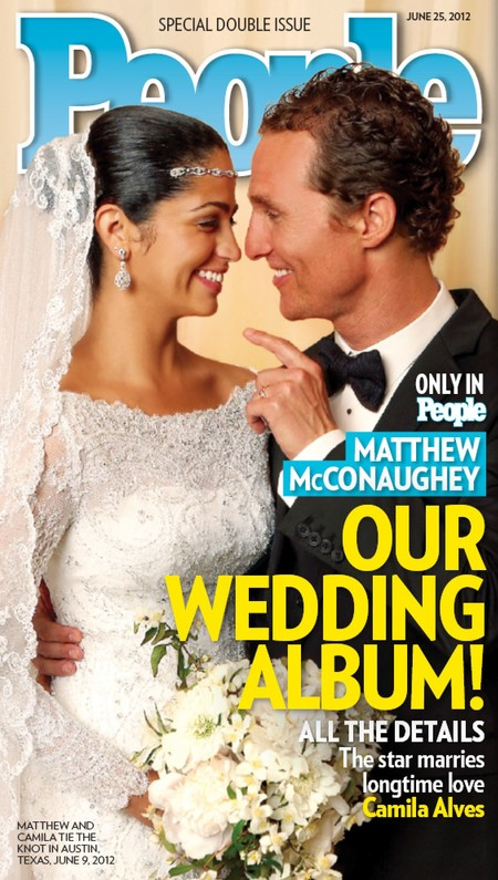 Matthew Mcconaughey Wedding