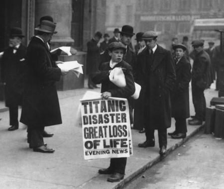 Titanic Newsboy