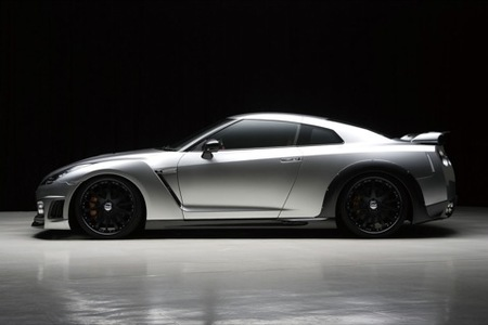 Wald International le mete mano al Nissan GT-R