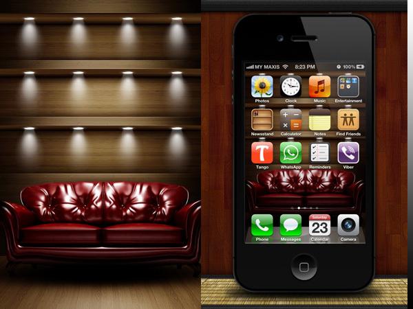 Fondo para el iPhone Sofá