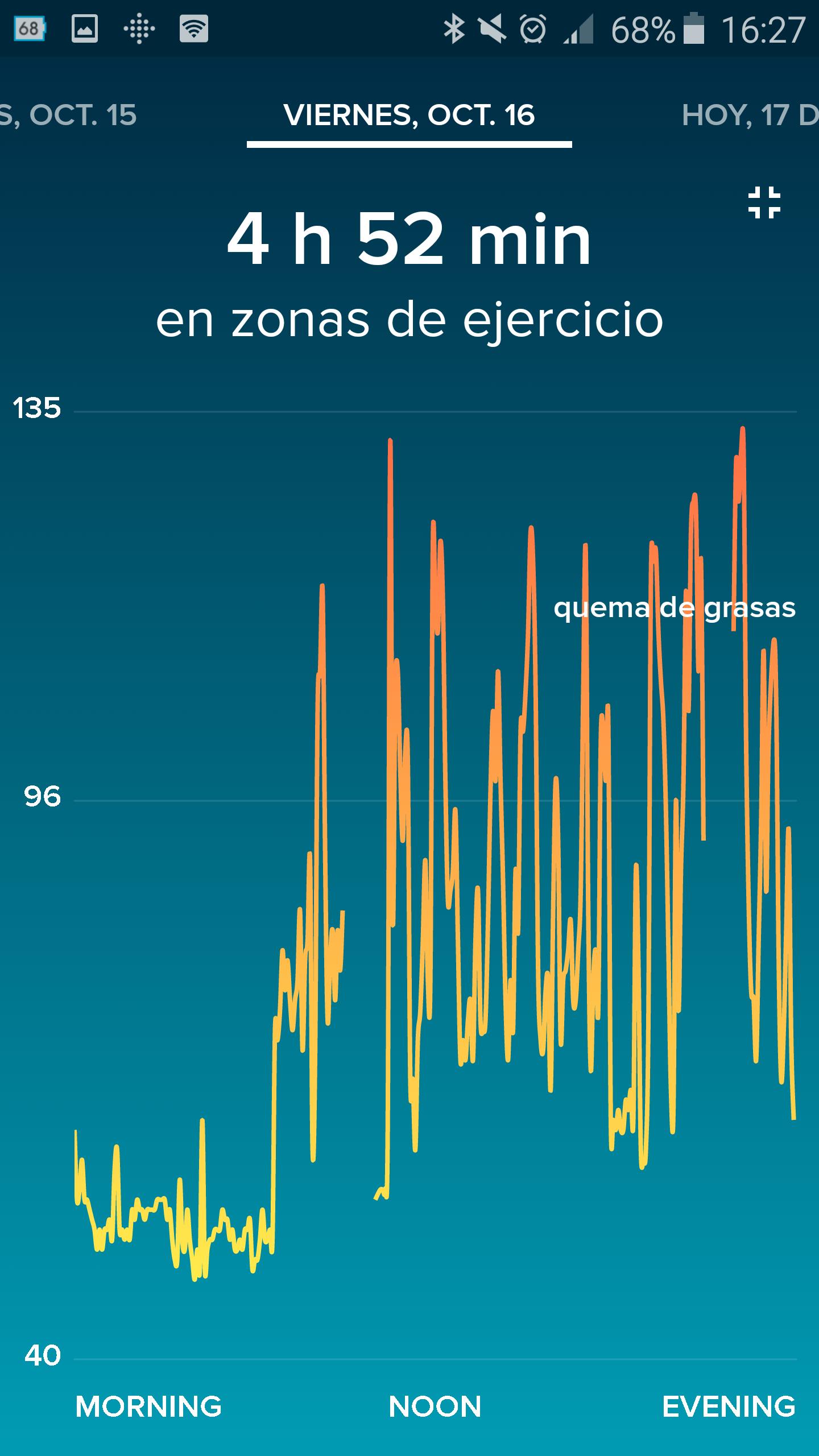 Foto de Aplicación Fitbit en smartphone (19/19)
