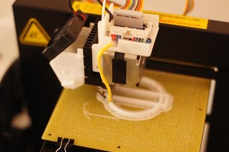 Imprimiendo el primer modelo descargado de thingiverse