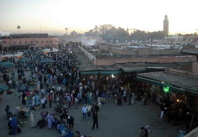 De compras por la Medina de Marrakech