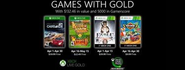 Juegos de Xbox Gold gratis para Xbox One y 360 de abril 2020