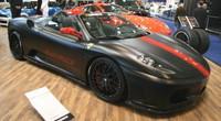 """Hamman se va a Frankfurt: Ferrari F430 """"Black Miracle"""""""