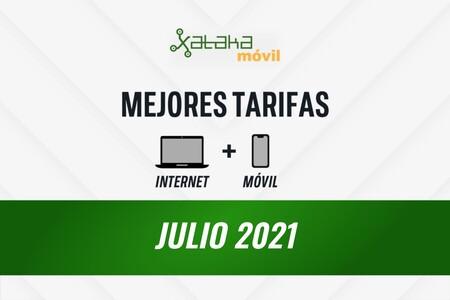 Las mejores tarifas de móvil y fibra en julio de 2021