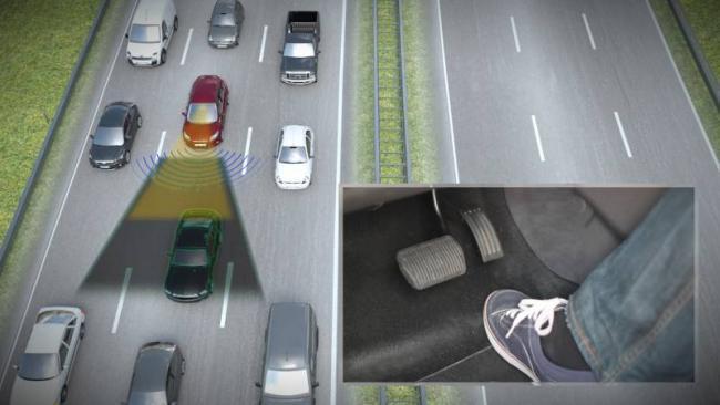 Ford asistente atascos de tráfico