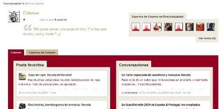 Nuevas funcionalidades en Directo al Paladar | Página de usuario