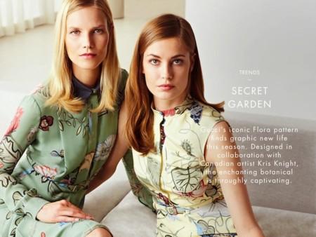 Clonados y pillados: el estampado Flora Knight de Gucci se encuentra en Zara