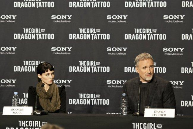 Rooney Mara con David Fincher