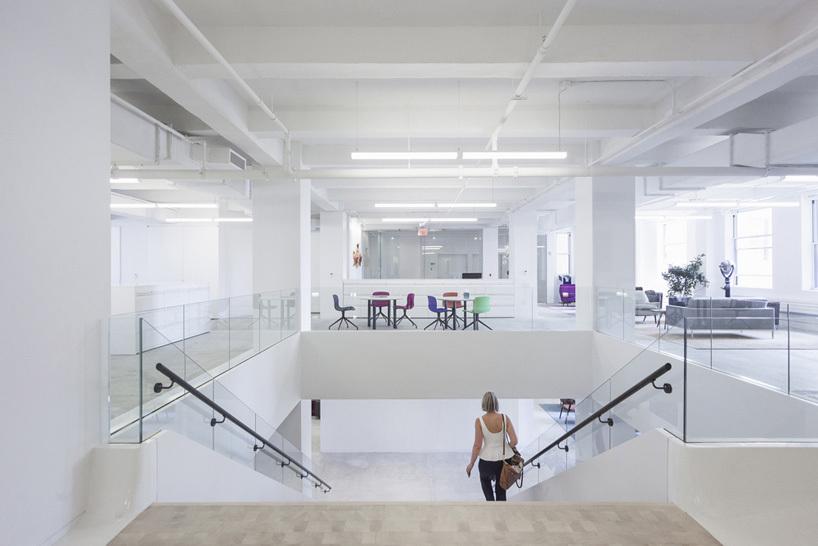Las oficinas de Red Bull en Nueva York