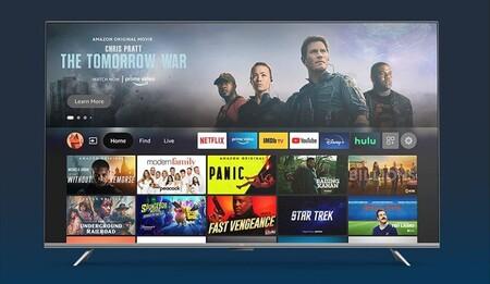 Amazon ahora fabrica Smart TV Fire TV: 4K y Dolby Digital Plus en hasta 75 pulgadas en los televisiones definitivas para usar Alexa