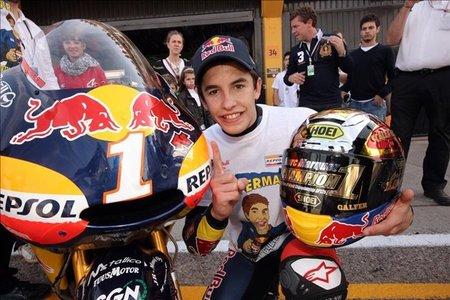 Marc Márquez con el número 1