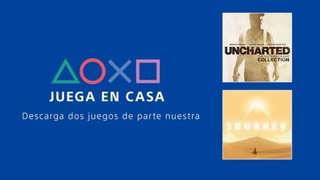 Uncharted: Collection y Journey gratis en PS4 para todos: Sony regala dos juegos para quedarnos en casa ante la crisis de COVID-19