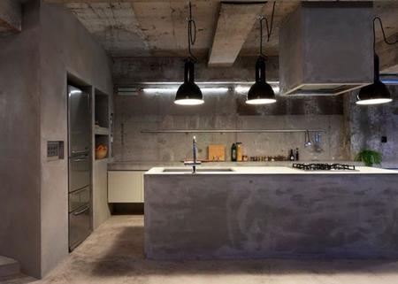 Las diez cocinas m s hermosas jam s vistas con cual de for Cocinas de concreto