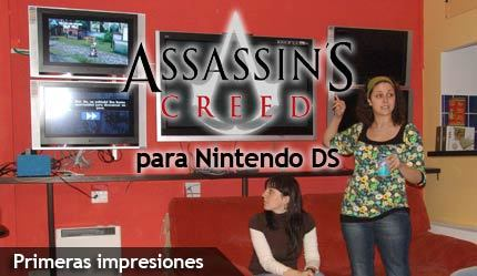 'Assassin's Creed' para Nintendo DS, primeras impresiones