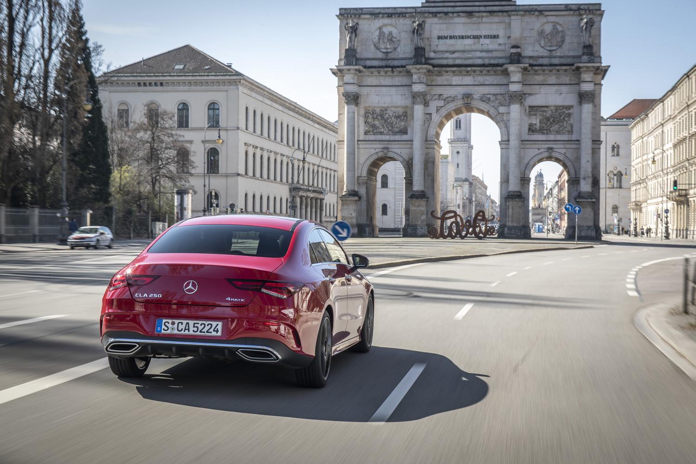 Foto de Mercedes-Benz CLA Coupé 2019, toma de contacto (23/248)