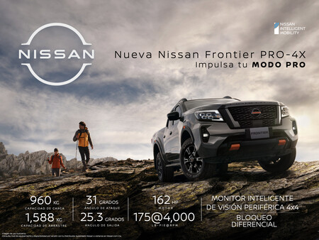 Nissan Frontier Pro 4x mexico 34