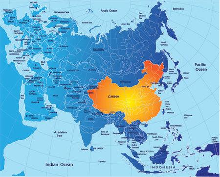 Recorrer China a pie