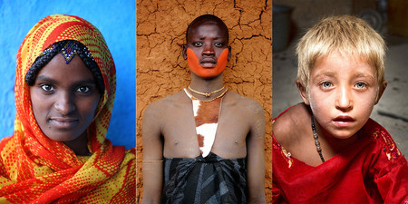 'The World in Faces', de Alexander Khimushin, un retrato global de la Humanidad