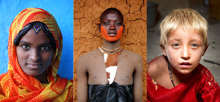 'The World in Faces', de Alexander Khimushin, un retrato global de la Humanidad