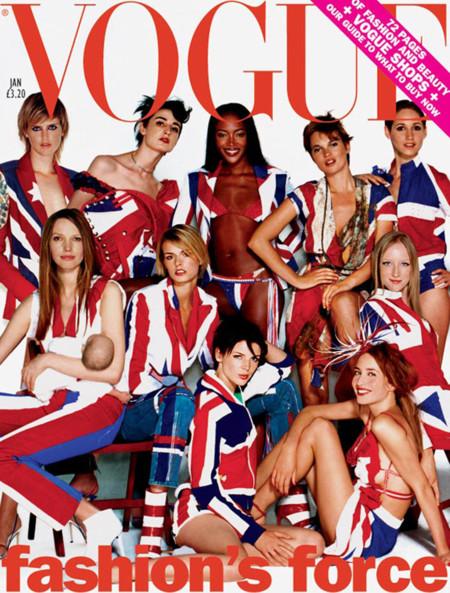 Británicos Vogue kate moss