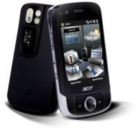 Acer X960 muestra el interfaz de Acer para Windows Mobile