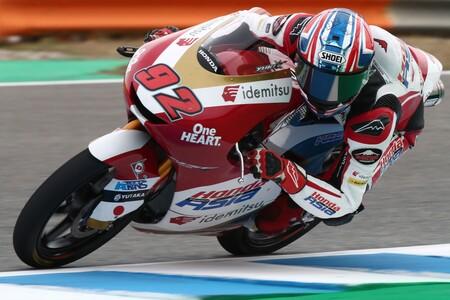 Kunii Jerez Moto3 2021