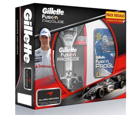 Pack de Gillette Fusion ProGlide McLaren Mercedes