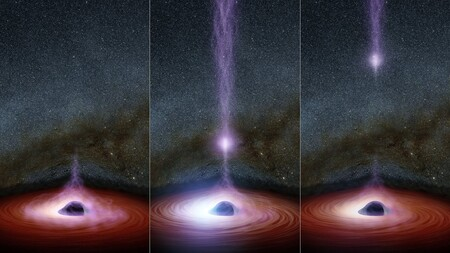 Por primera vez captan luz detrás de un agujero negro: se comprueba lo predicho por la Teoría de la Relatividad de Einstein