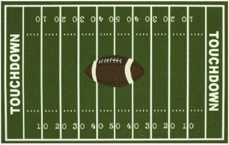 alfombra futbol americano
