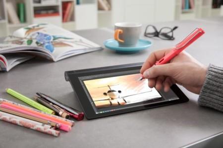 En el Yoga Tablet 2 podrás escribir con casi cualquier bolígrafo