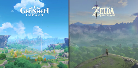 Genshin Impact vs Zelda: Breath of the Wild: este vídeo muestra hasta qué punto se parecen (incluso más de lo que se ve a simple vista)