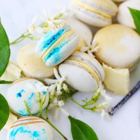 Aquafaba. Macarons