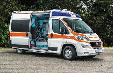 Fiat Ducato 2014 - ambulancia