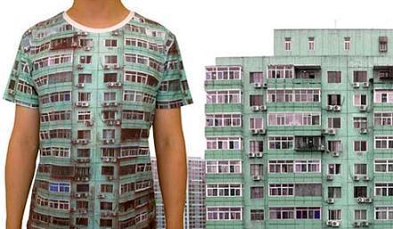 Camiseta edificio de apartamentos