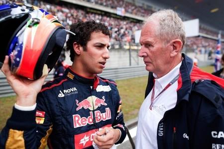 Helmut Marko mete presión a Jean-Eric Vergne adulando a Daniel Ricciardo