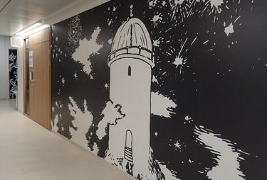 Las ilustraciones de Tove Jansson se adentran en un hospital infantil finlandés creando un mundo mágico y positivo