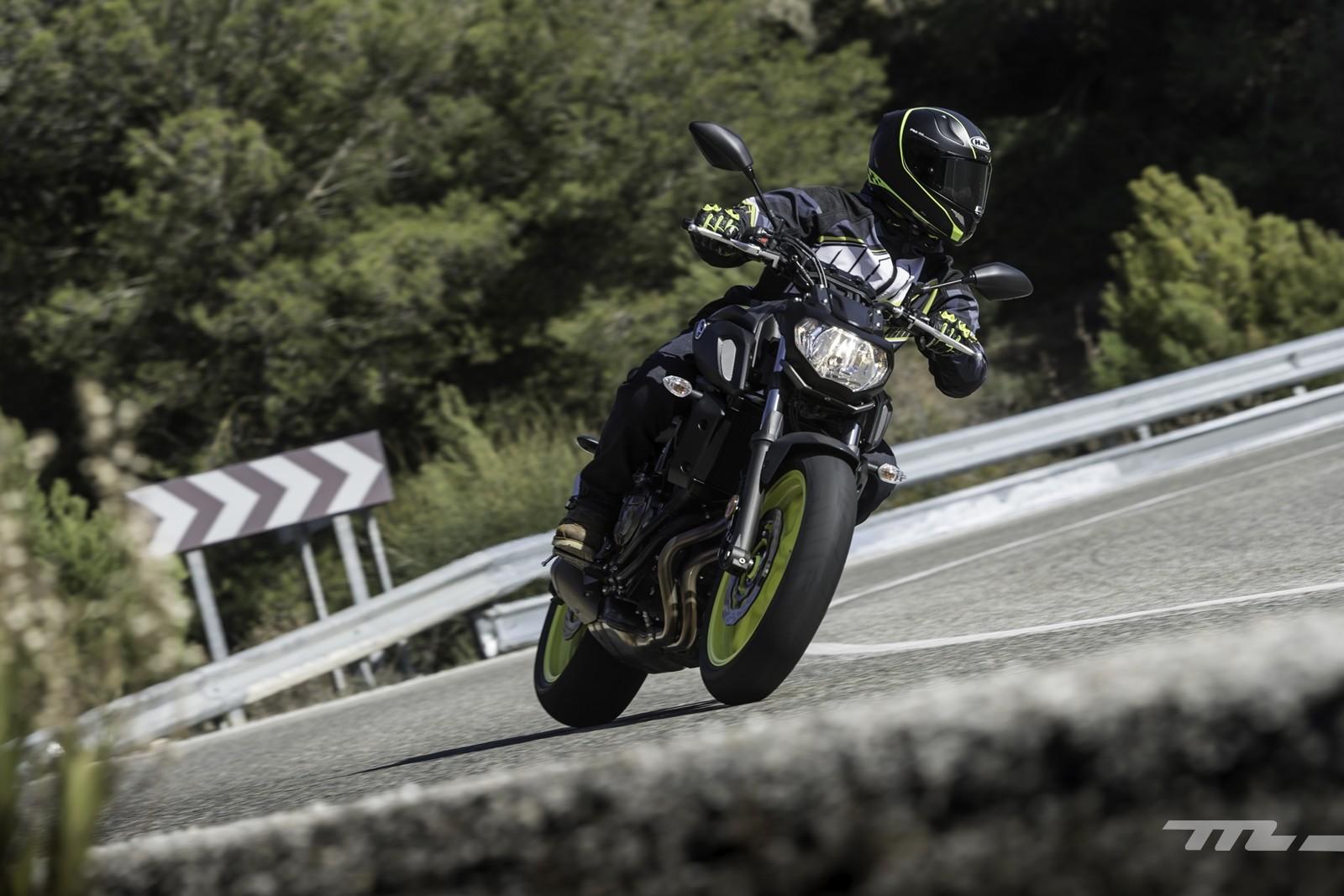 Yamaha MT-07 2018, prueba