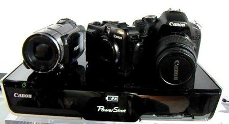 Canon Cross Media Station, carga dispositivos y comparte sin cables sus contenidos