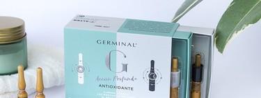 Germinal lanza sus nuevas ampollas con efecto antioxidante, que prometen cuidar los rostros maduros día y noche