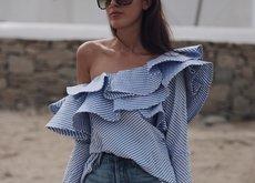 La blusa que ha enamorado a todas las fashionistas es muy flamenca