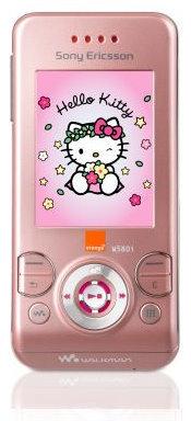 Sony Ericsson W580i versión Hello Kitty