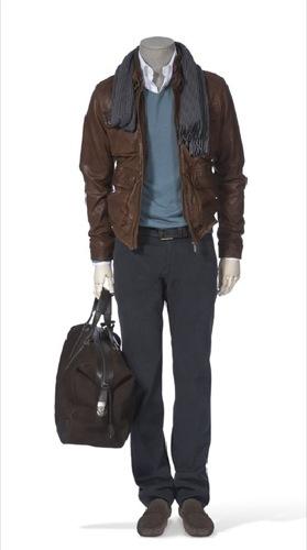 Looks de invierno de Massimo Dutti, cazadora de cuero